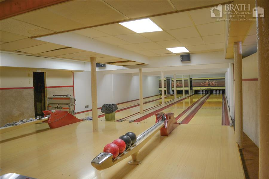 Lower Level Bowling Alley